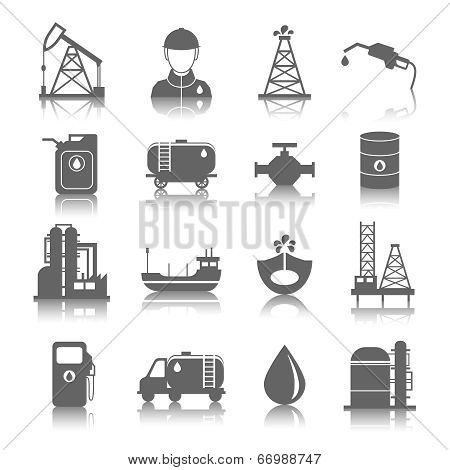 Oil Industry Icons
