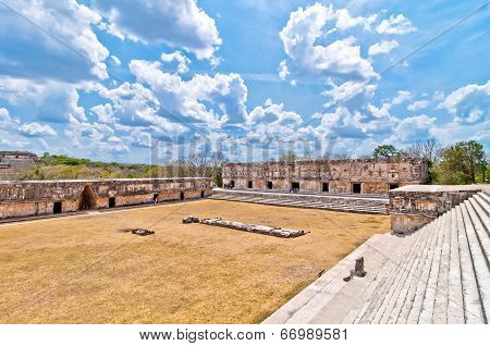 Uxmal ancient mayan city, Yucatan, Mexico