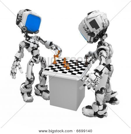 Blue Screen Robot, Chess Players