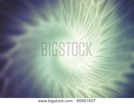 Abstract fractal texture, fiber optics concept design