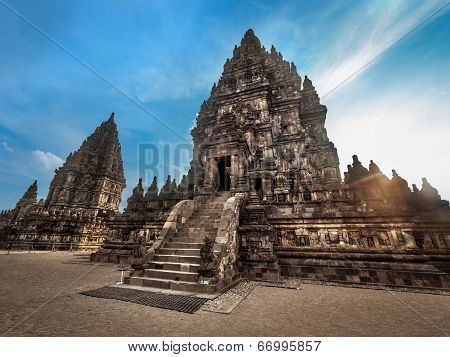 Prambanan Temple at Sunset, Central Java, Indonesia