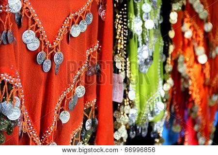 Mix Of Indian Multicoloured Fabrics