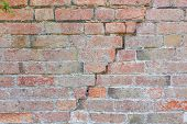 Постер, плакат: Brick Wall Cracking