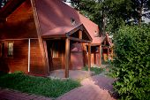 foto of chalet  - Charming chalets prepared to invite the tourists - JPG