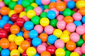 picture of candy  - A stack of Sweet candies in multiple colors - JPG