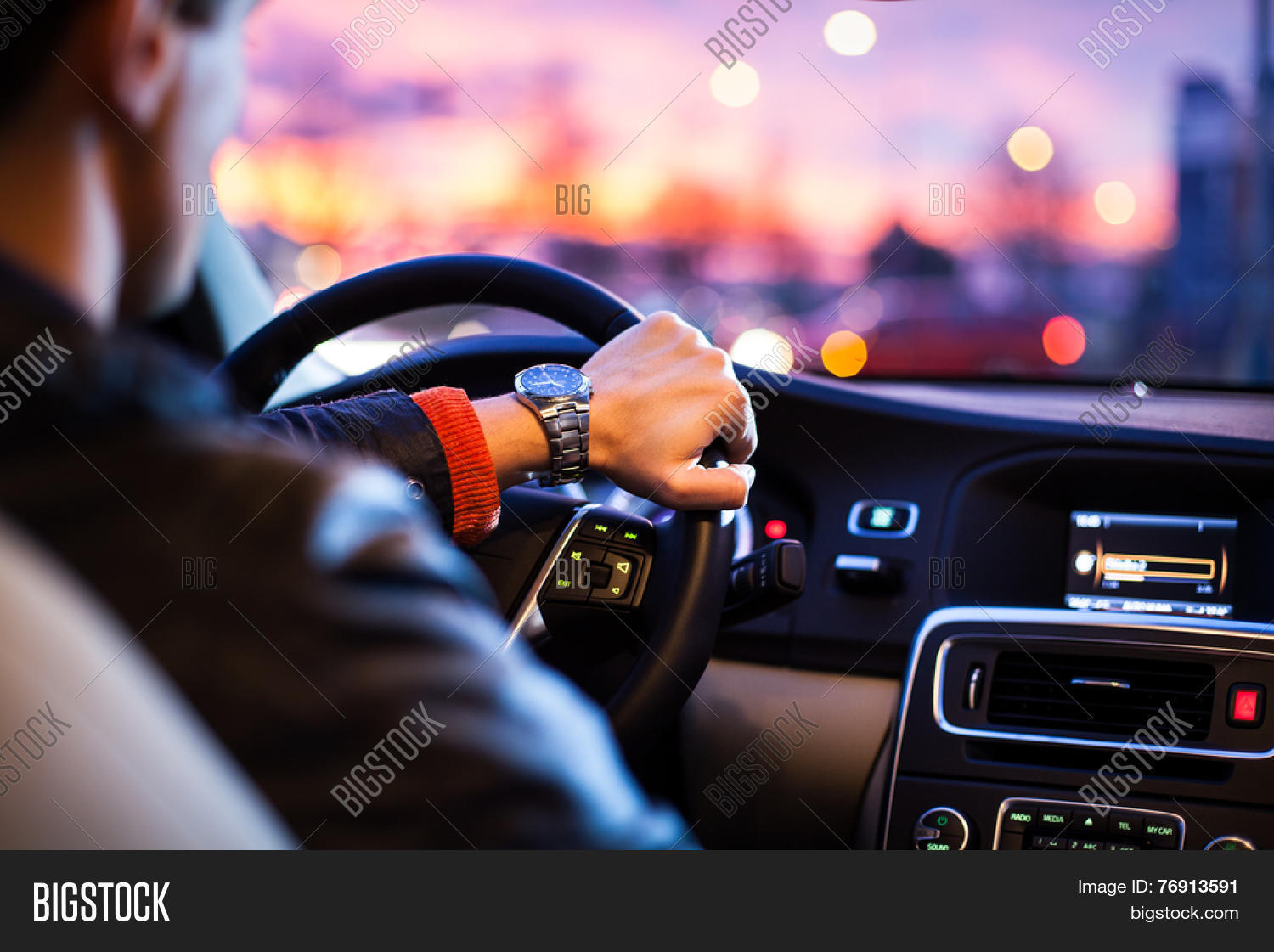 driving car night man driving his image amp photo bigstock