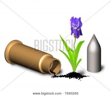 Flower On Gunpowder.