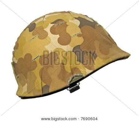 US Korean War Helmet