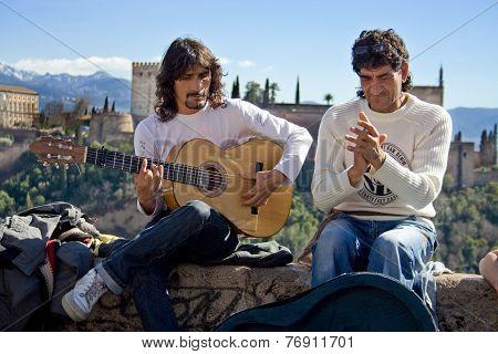 Flamenco Street Musicians