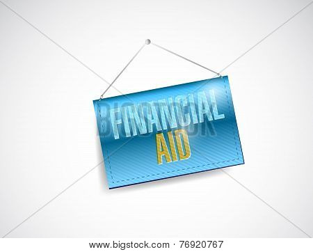 Financial Aid Banner Illustration Design