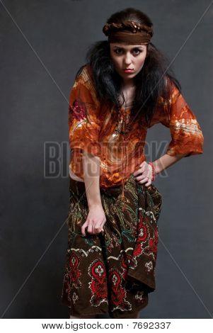müde Zigeunerin