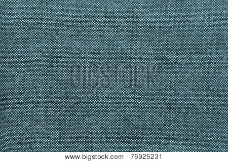 Texture Of Checkered Fabric With Turquoise Specks