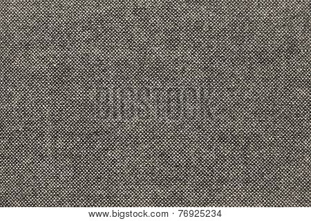 Texture Of Checkered Fabric With Beige Specks