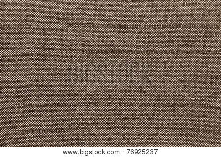 Texture Of Checkered Fabric With Brown Specks