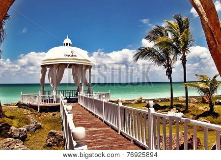 Romantic and paradise  island  Cuba Varadero