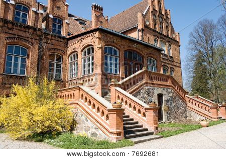 Jaunmoku Palace in Lettland