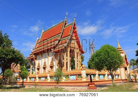 Temple at wat Chang Pi