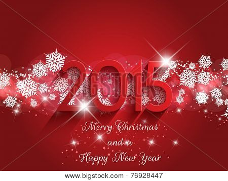 Decorative background for Christmas and the New Year