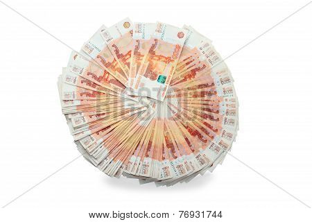 Five Thousand Rubles Of Russian Federation