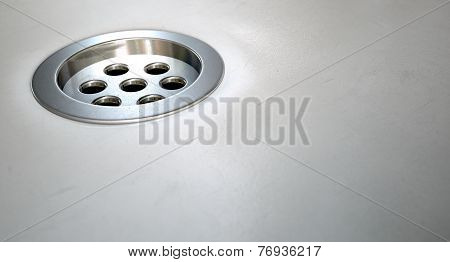 Round Plug Hole Closeup