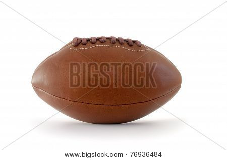 Brown Leather Rugby Ball