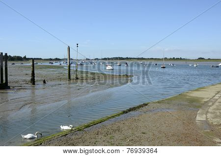 Chichester Harbour At Bosham. Sussex. England