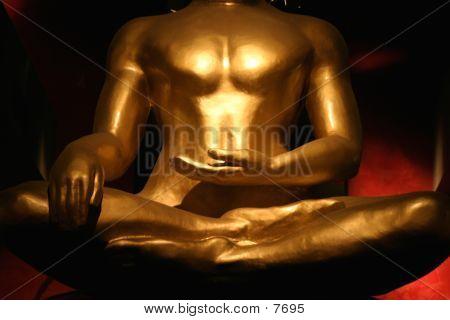 Dramatic Buddha's Torso poster