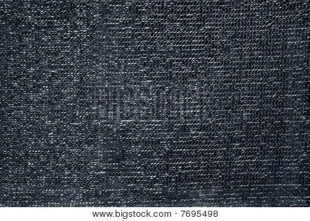 Gray Raffia Fabric Plastic Texture Pattern Background