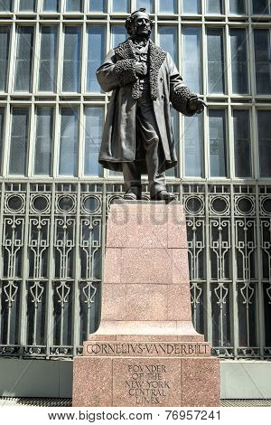 Cornelius Vanderbilt Monument, Grand Central, New York