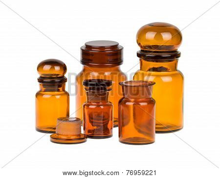Apothecary bottles