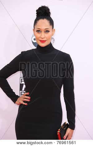 LOS ANGELES - NOV 23:  Tracee Ellis Ross at the 2014 American Music Awards - Arrivals at the Nokia Theater on November 23, 2014 in Los Angeles, CA