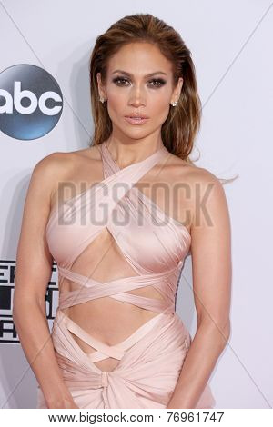 LOS ANGELES - NOV 23:  Jennifer Lopez at the 2014 American Music Awards - Arrivals at the Nokia Theater on November 23, 2014 in Los Angeles, CA
