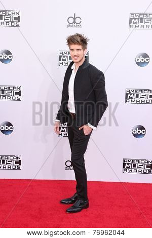LOS ANGELES - NOV 23:  Joey Graceffa at the 2014 American Music Awards - Arrivals at the Nokia Theater on November 23, 2014 in Los Angeles, CA