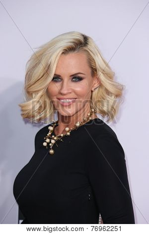 LOS ANGELES - NOV 23:  Jenny McCarthy at the 2014 American Music Awards - Arrivals at the Nokia Theater on November 23, 2014 in Los Angeles, CA