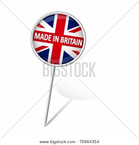 Pin Round - Made In Britain