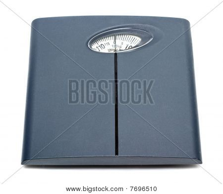 Bathroom Scale Isolated
