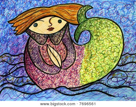 Storybook Mermaid