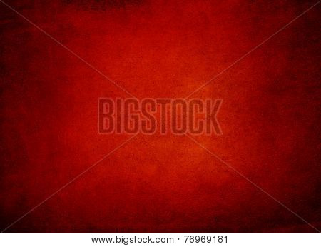 Abstract Red Background Or Red Paper, Black Vintage Grunge Background Texture Design, Beautiful Soli