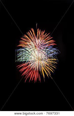 Thailand Fireworks