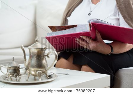 Browsing The Photo Album