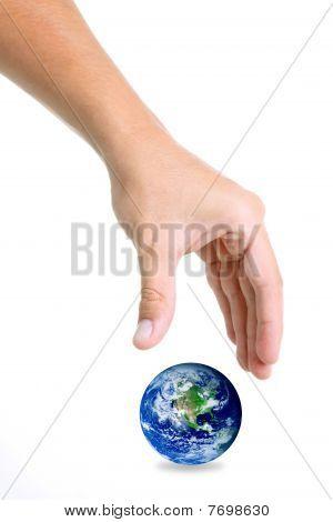 World And Hand
