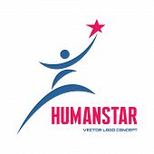 foto of logo  - Human star  - JPG