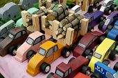 Truck toys poster