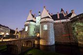 foto of duke  - Castle of the Dukes of Brittany  - JPG