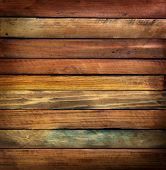 pic of wood pieces  - Wood paneling made from antique or vintage tree wood pieces - JPG