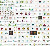 stock photo of logo  - Logo mega collection - JPG
