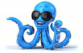 image of octopus  - Fun octopus - JPG