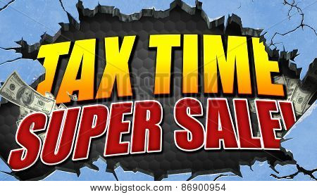 Tax Time Super Sale