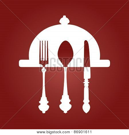 Fork Knife and Spoon background