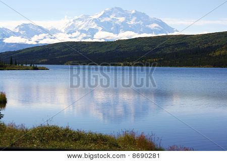Mt. McKinley and Wonder Lake